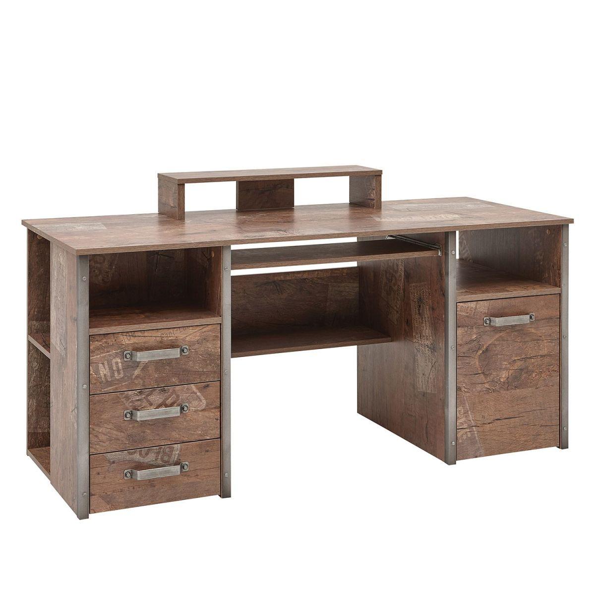 Schreibtisch Harkon I Eiche Panama Dekor Schildmeyer Jetzt Bestellen Unter Https Moebel Ladend Schreibtisch Mit Glasplatte Schreibtisch Schreibtisch Holz