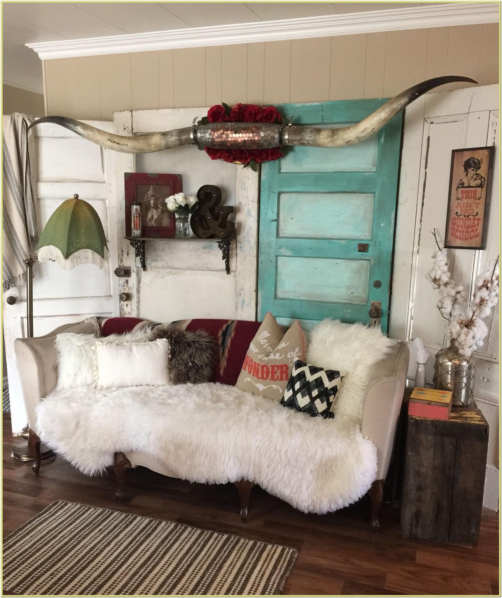 Boho Western Living Room Ideas Funky Home Decor Western Home Decor Cowgirl Room