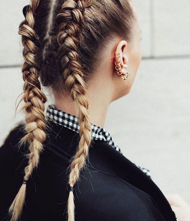 slide down the slopes with a pair of badass boxer braids