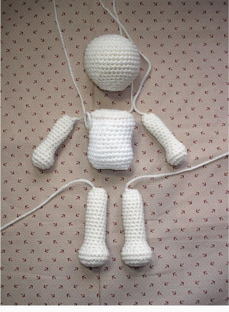 20+ FREE Crochet Doll Patterns (Free Crochet Patterns and Tutorials to Crochet a Doll) #amigurumis