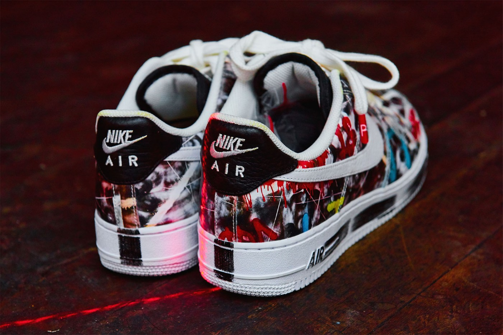Look Underneath The G Dragon Peaceminusone X Nike Air Force 1