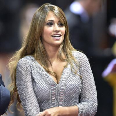 Antonella Roccuzzo Rocuzzo Belleza Mujer Peinados Con Pelo Recogido