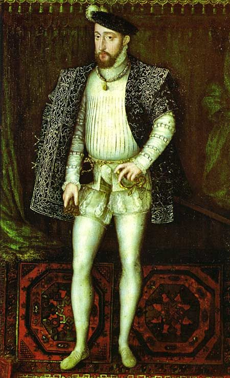 French King Henri II (reign 31 March 1547 – 10 July 1559)