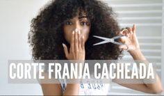 My New Haircut, Bang on Natural Hair // Meu Novo Corte, Franja Cacheada