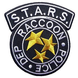 Resident Evil S T A R S Raccoon Black Logo 3 1 2 Wide Embroidered Patch Resident Evil Tattoo Resident Evil Resident Evil Raccoon City