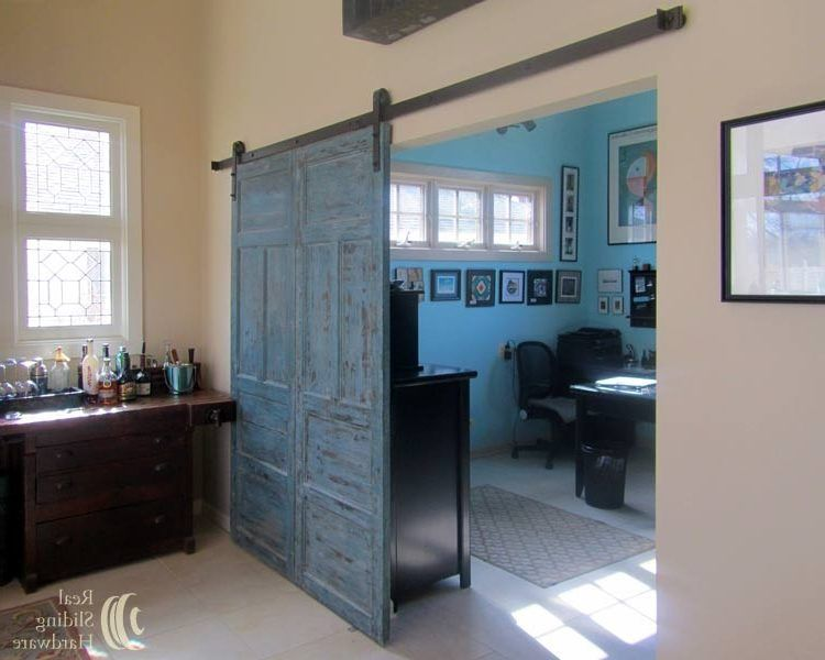 Seattle Interior Barn Doors With Contemporary Pot Fillers Home Office Eclectic And Sliding Hardware Door
