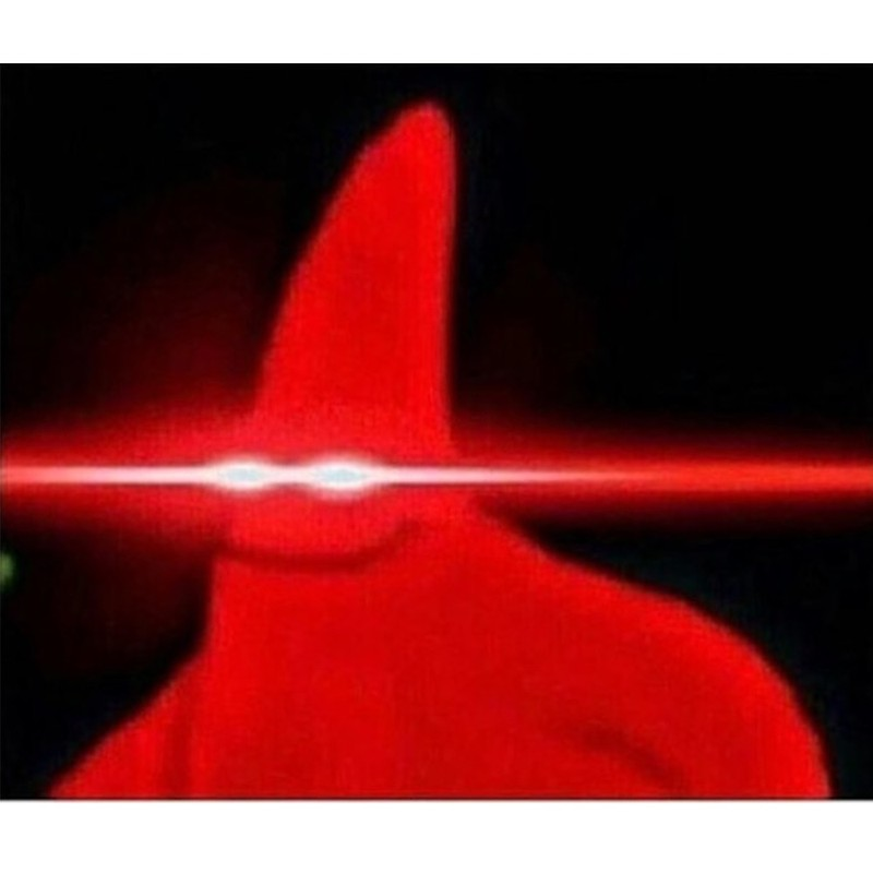 Laser Eyes Meme Maker Foxydoor Com Eyes Meme Spongebob Time Cards Laser Eye