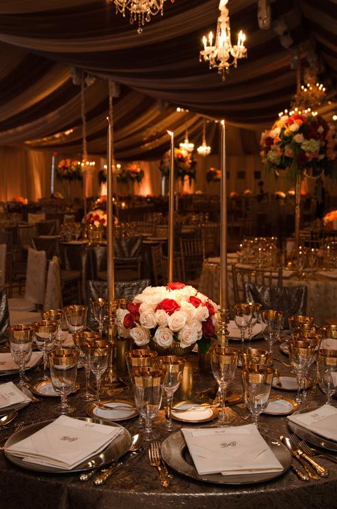 Combine Gold With Beige And Brown For A Warm Elegant Color Scheme Wedding Colors Glamorous