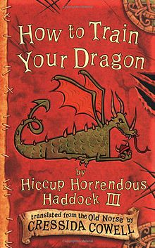 how to train your dragon book cover art