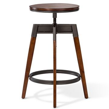 Modern Adjustable Barstool Brown Threshold With Images