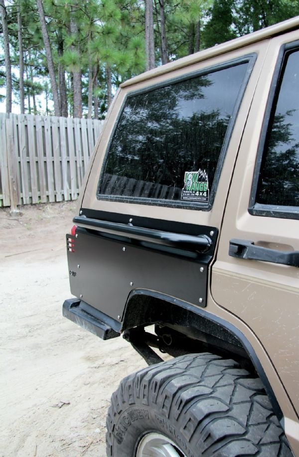 Jeep Cherokee XJ ORFab Bumpers and rear quarters t