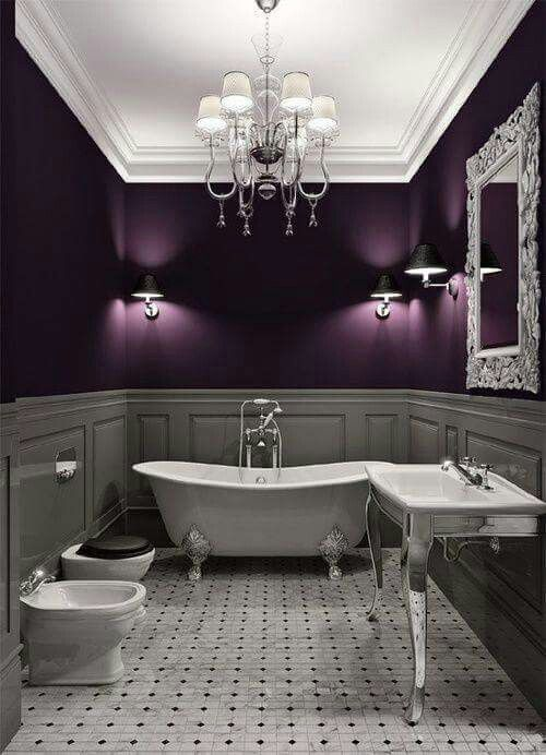 purple love and fav quotes ba os decoracion ba os hogar rh pinterest es