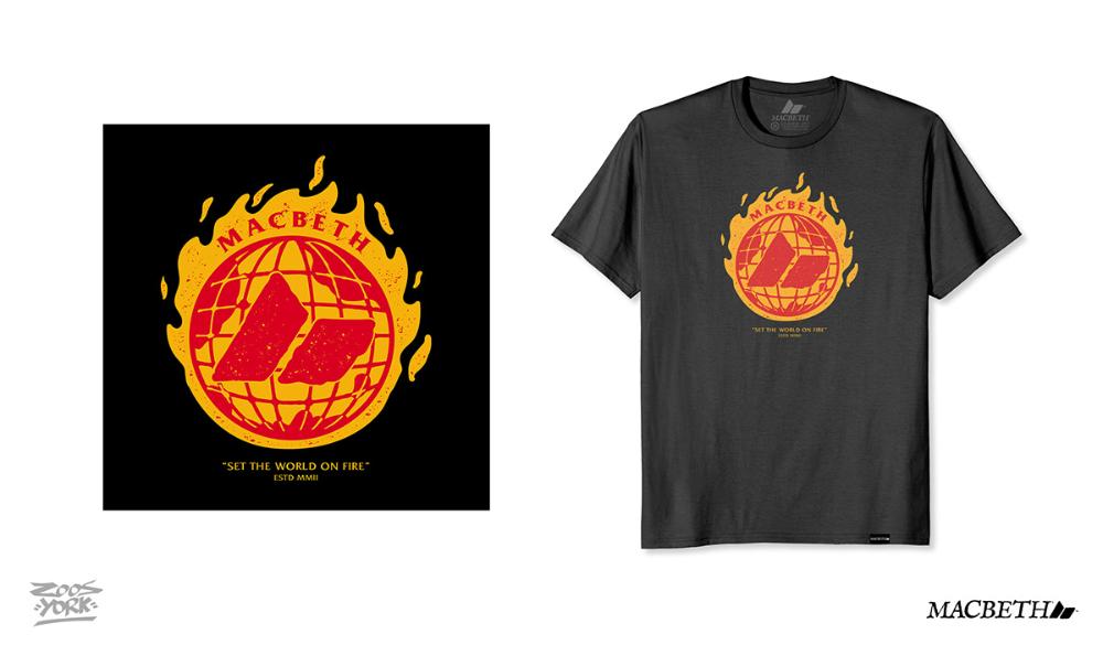 Macbeth T Shirt Designs Pt 2 On Behance Di 2020