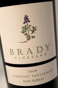 Brady Vineyard 2009 Cabernet Sauvignon