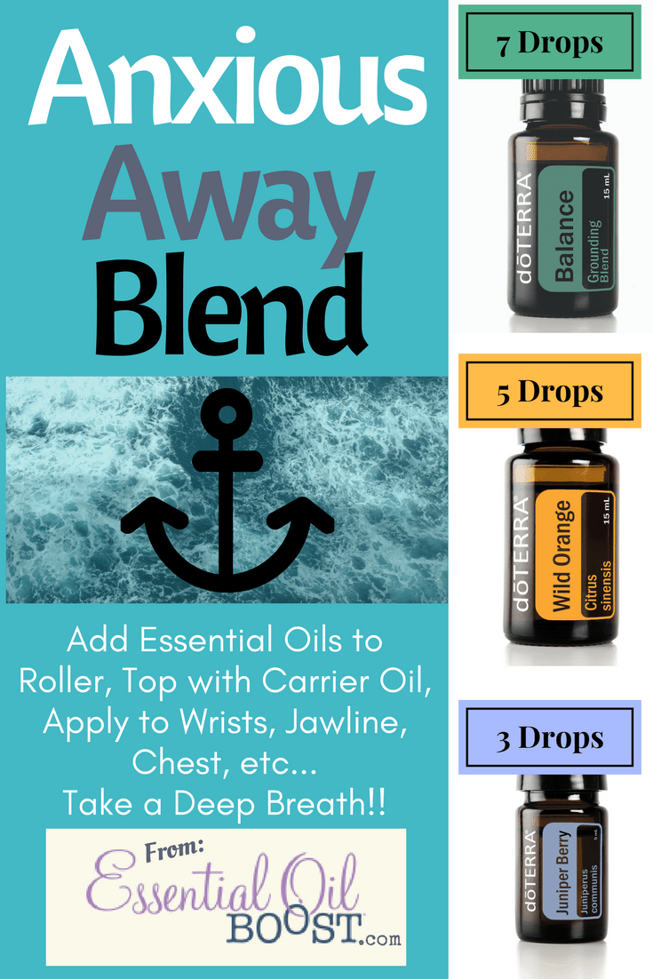 Calm Anxiety Anxious Feelings With This Blend Of Doterra Essential