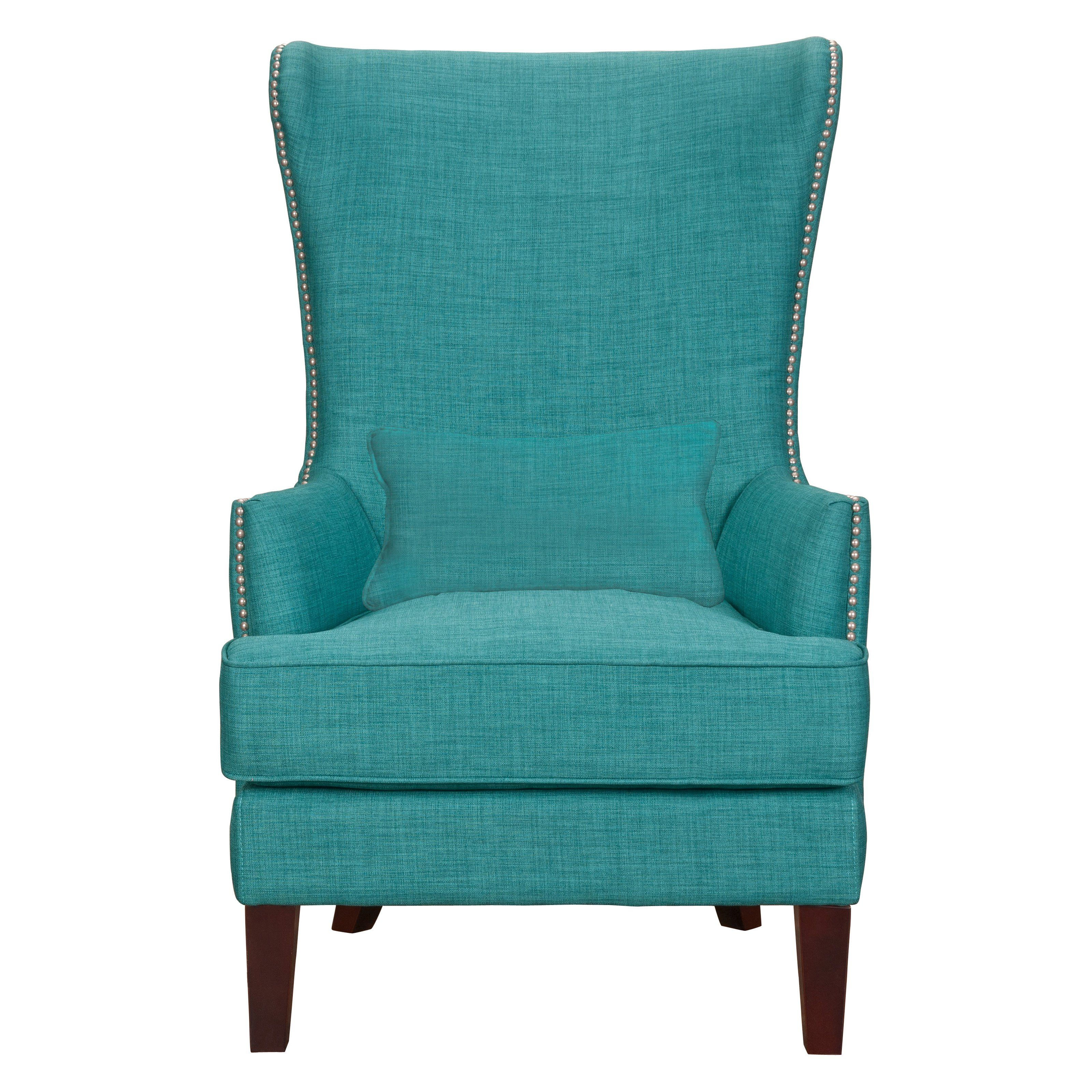 Picket House Furnishings Kori Chair with Chrome Nailhead Trim | from ...