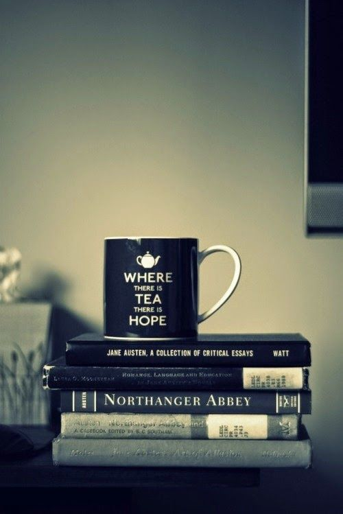 Pouring you a mugful of hope... along with some Lavender Lady Grey tea