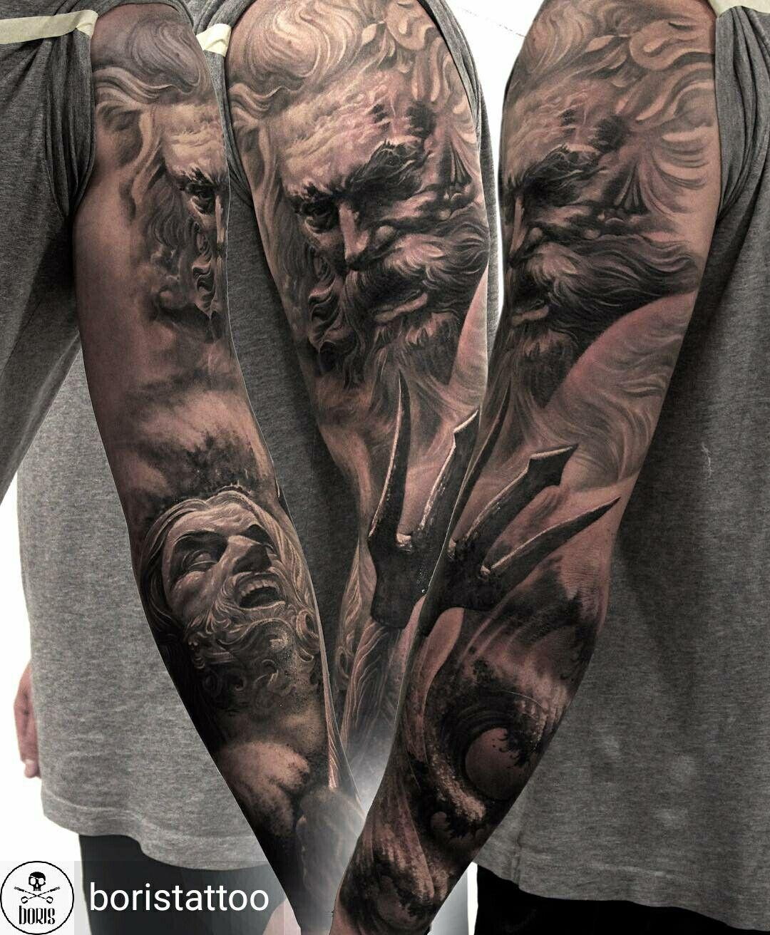 Pin by Victoria on realistic & volumetric tattoo Greek