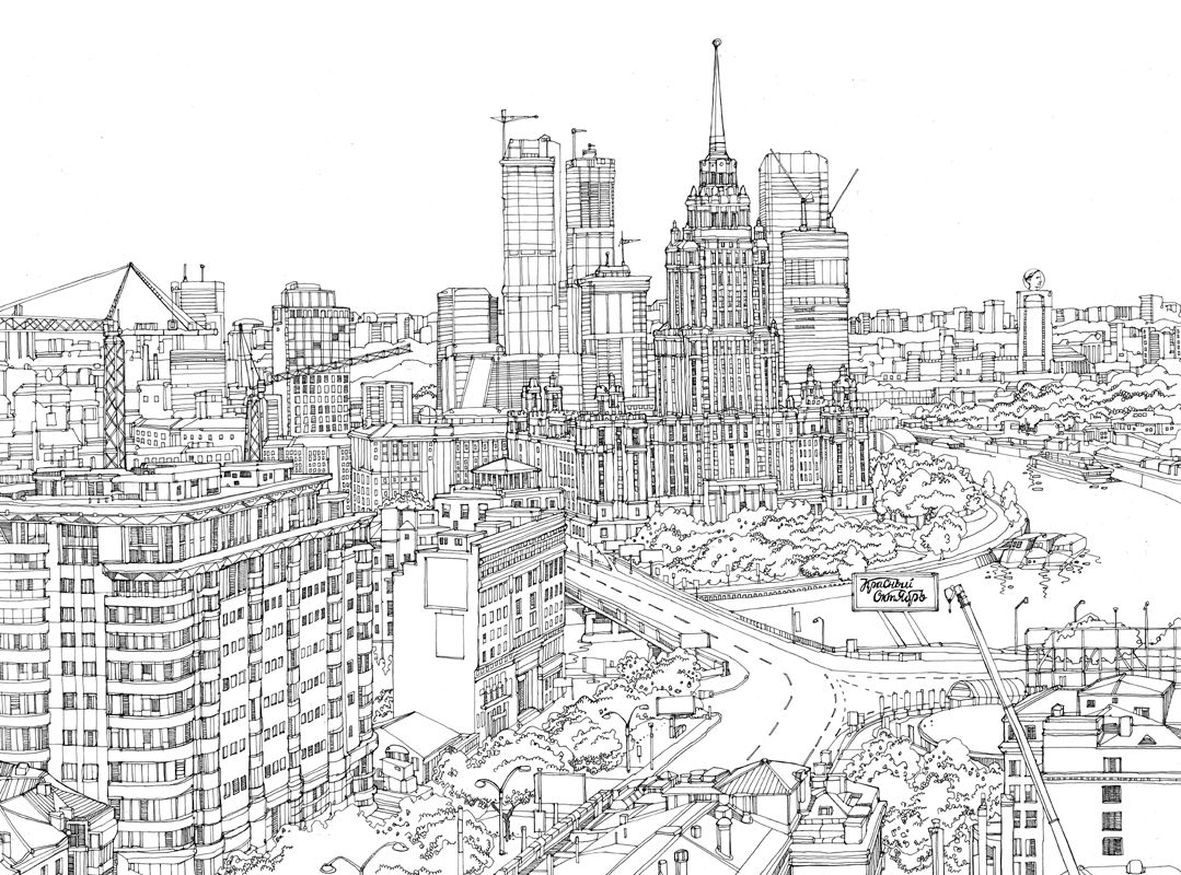 Line Art Year : Image result for futuristic city sketch future in