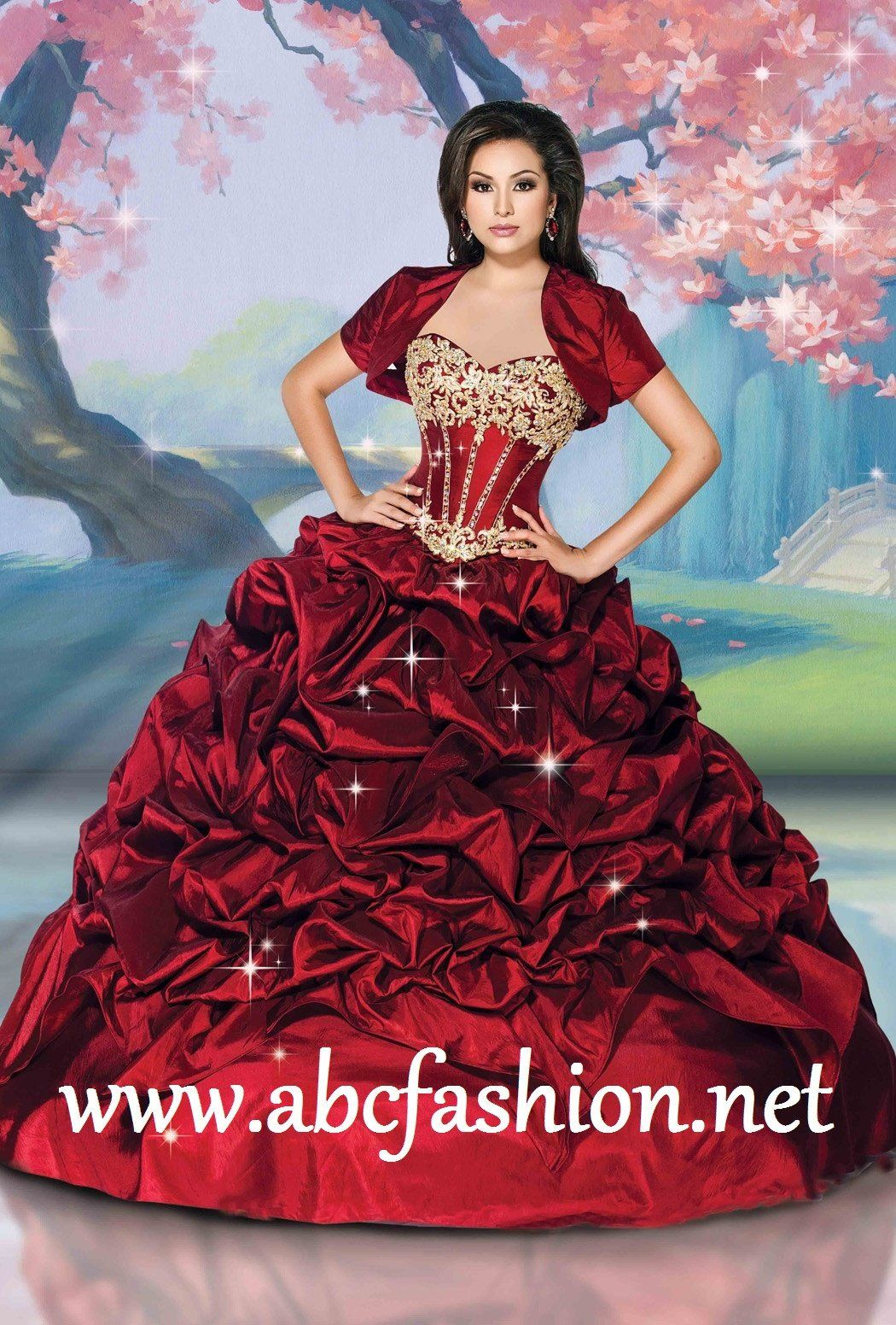 5b4ca43c2 Disney Royal Ball Quinceanera Dress Mulan Style 41075 in 2019 ...