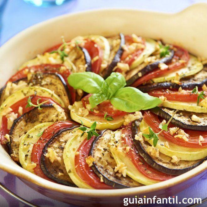 Como Hacer Ratatouille Receta De Pelicula Para Ninos Recipe Vegetable Recipes Easy Healthy Recipes Food