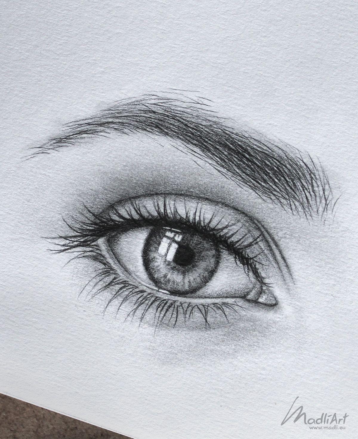 drawings of eyes - 735×902