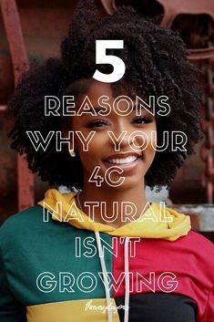 Here's Why Your Type 4c Natural Hair Isn't Growing ⋆ ToTheCurlMarket