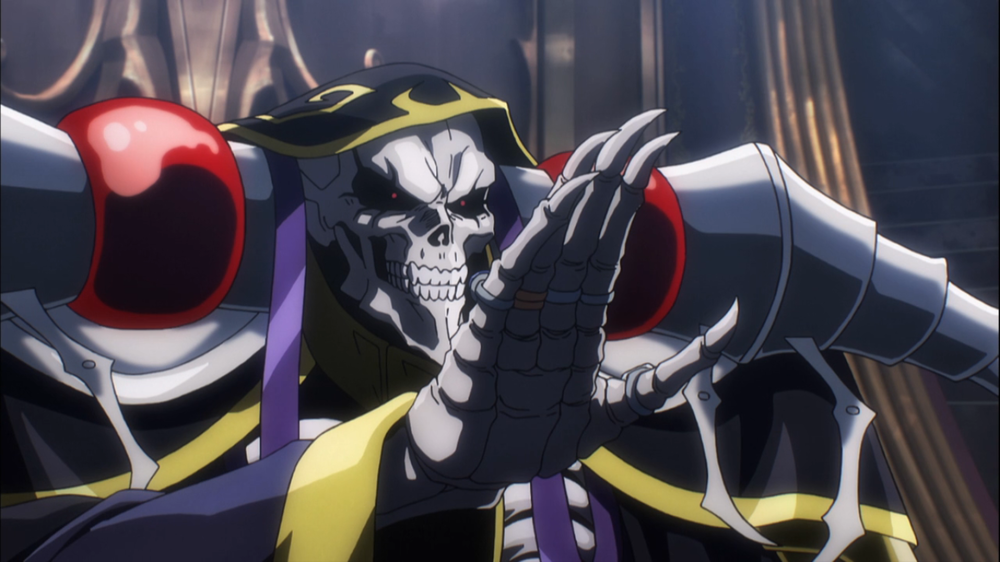 Ainz Ooal Gown Overlord Wiki Fandom Dark Warrior Anime Albedo