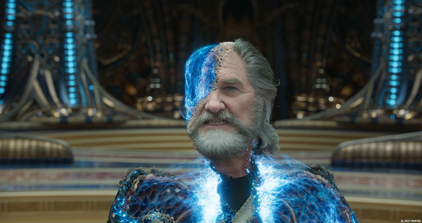 Kurt Russell as Ego the Living Planet