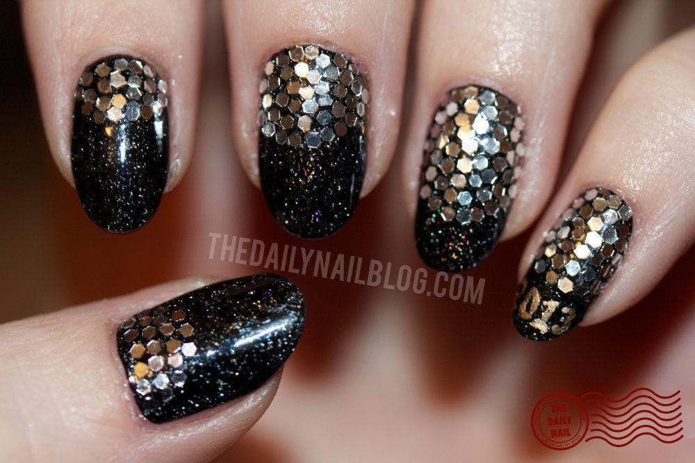 The Daily Nail - Happy New Year! | BEAUTY DIY: Nails | Pinterest ...