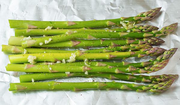 Top 3 des recettes à l'asperge verte