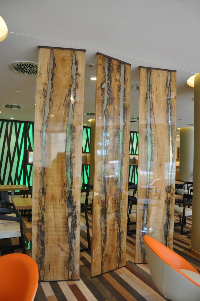 Cloison bois – une esthétique fonctionnelle à la maison ...