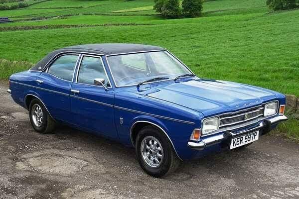 British Fast 4doors Of The 1970s Ford Cortina Tc 2000 E