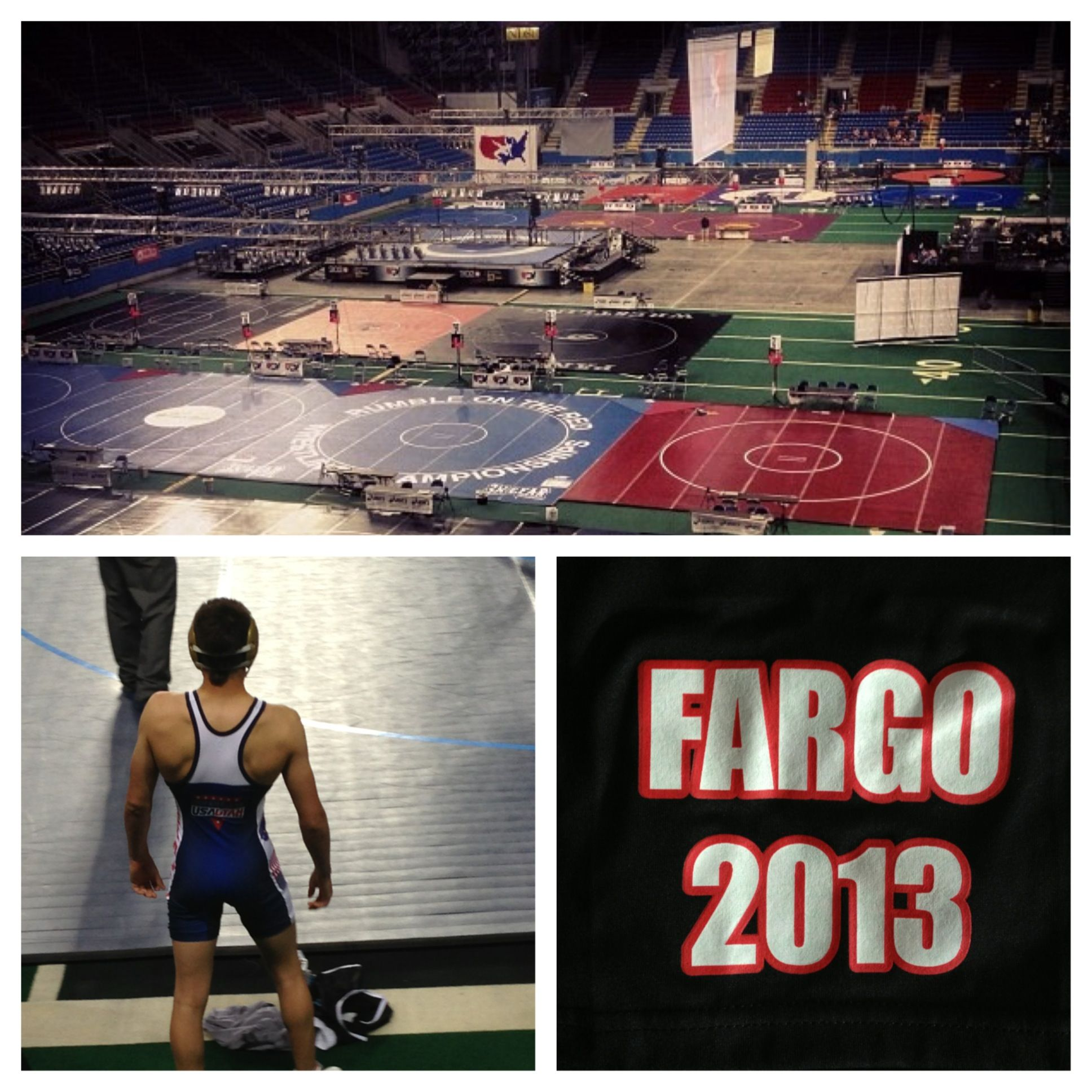 Fargo Is The Super Bowl Or World Series Of Wrestling The Best Of The Best Fargo2013 Teamutah Wrestling Nationals Wrestling Wrestler Proud Mom