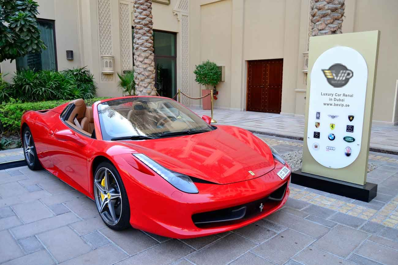 Ferrari 458 For Rent In Dubai Sports Car Rental Sports Car Car