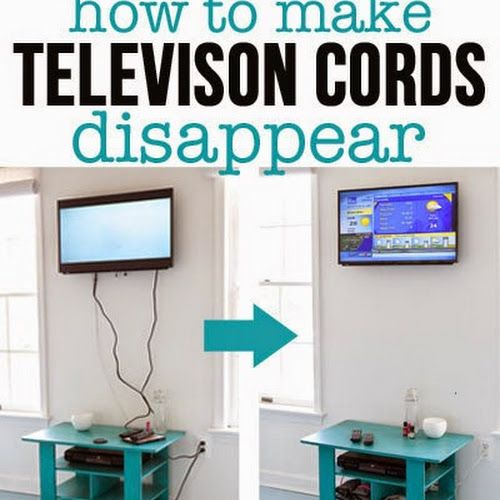 10 Different and Useful DIY Home Decor Ideas | Tv wall mount, Tv ...