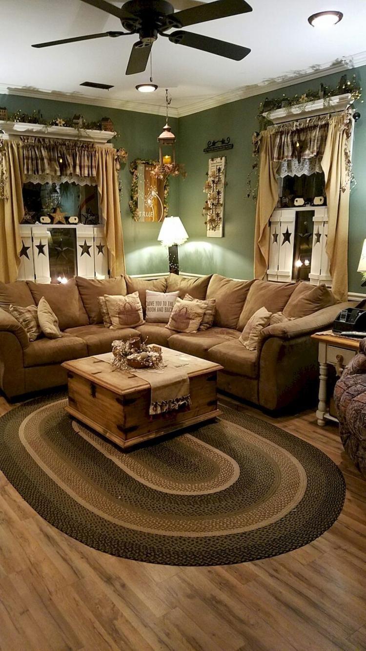 32+ Farmhouse lounge room type