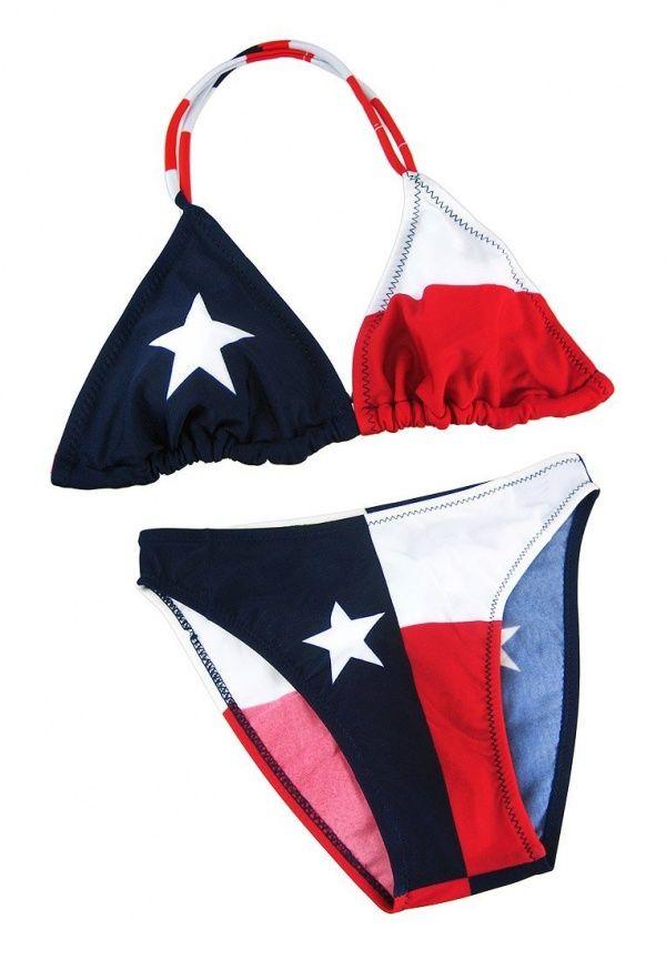 Lone star swimsuit bikini bathing suit