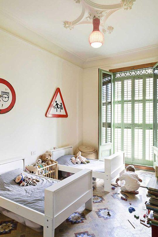 decoracion-infantil   Habitaciones compartidas   Pinterest ...