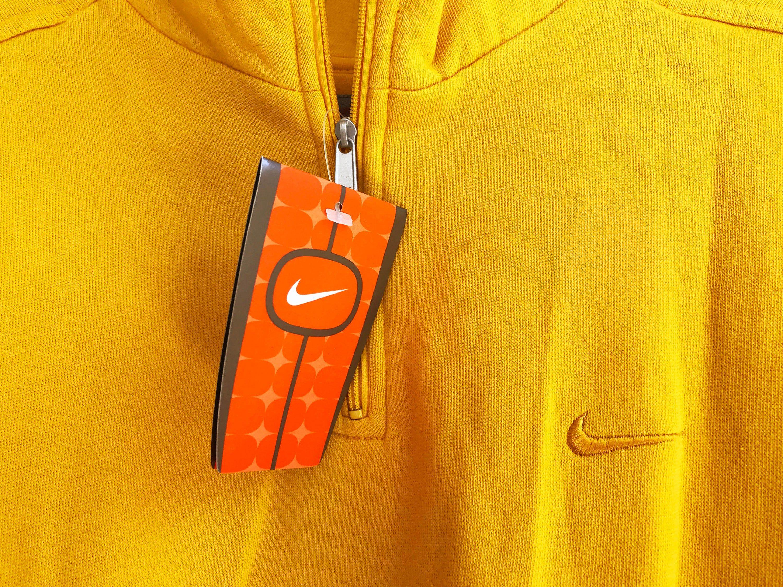 Vintage 90s Nike Small Swoosh Sweatshirt Yellow Size S Yellow Sweatshirt Sweatshirts Nike [ 2250 x 3000 Pixel ]