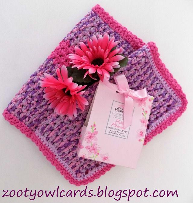 Crochet Face Cloth New Crochet Ideas Pinterest