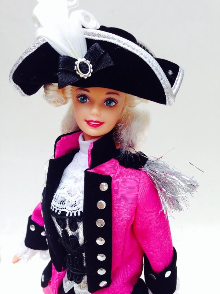 Barbie as George Washington