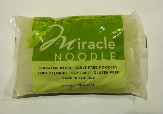 Miracle Noodles! Zero Calories, Soy Free, Gluten Free, Made in the United States. How can you say no??