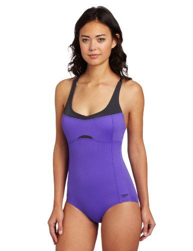 Speedo Women s Empire Splice Adjustable Crossback « Clothing Adds Anytime · Dámské  PlavkyBikiniJednodílné ... c31241e6a9