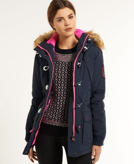 90ab1b9f5674 Superdry Everest Duffle Coat   I would like to wear these ...