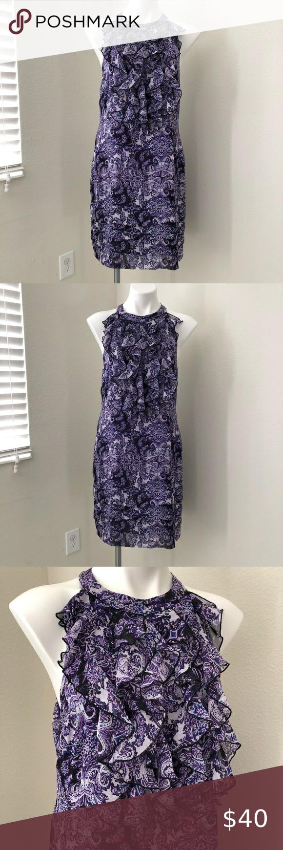 Ice Purple Sleeveless Dress Size 12 Women Size 12 Women Dresses Sleeveless Dress [ 1740 x 580 Pixel ]