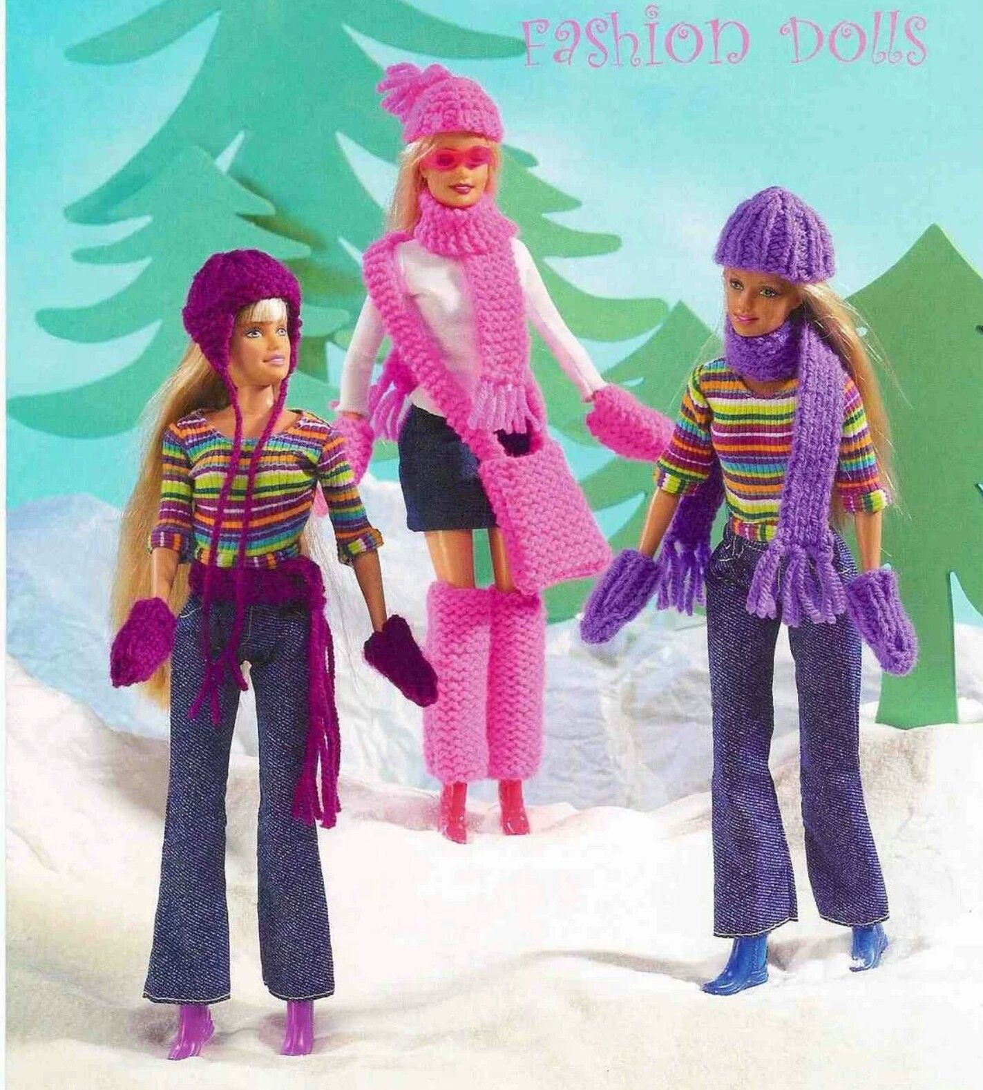 Pin de Sheri Thomason en Barbie Winter Crocheted | Pinterest