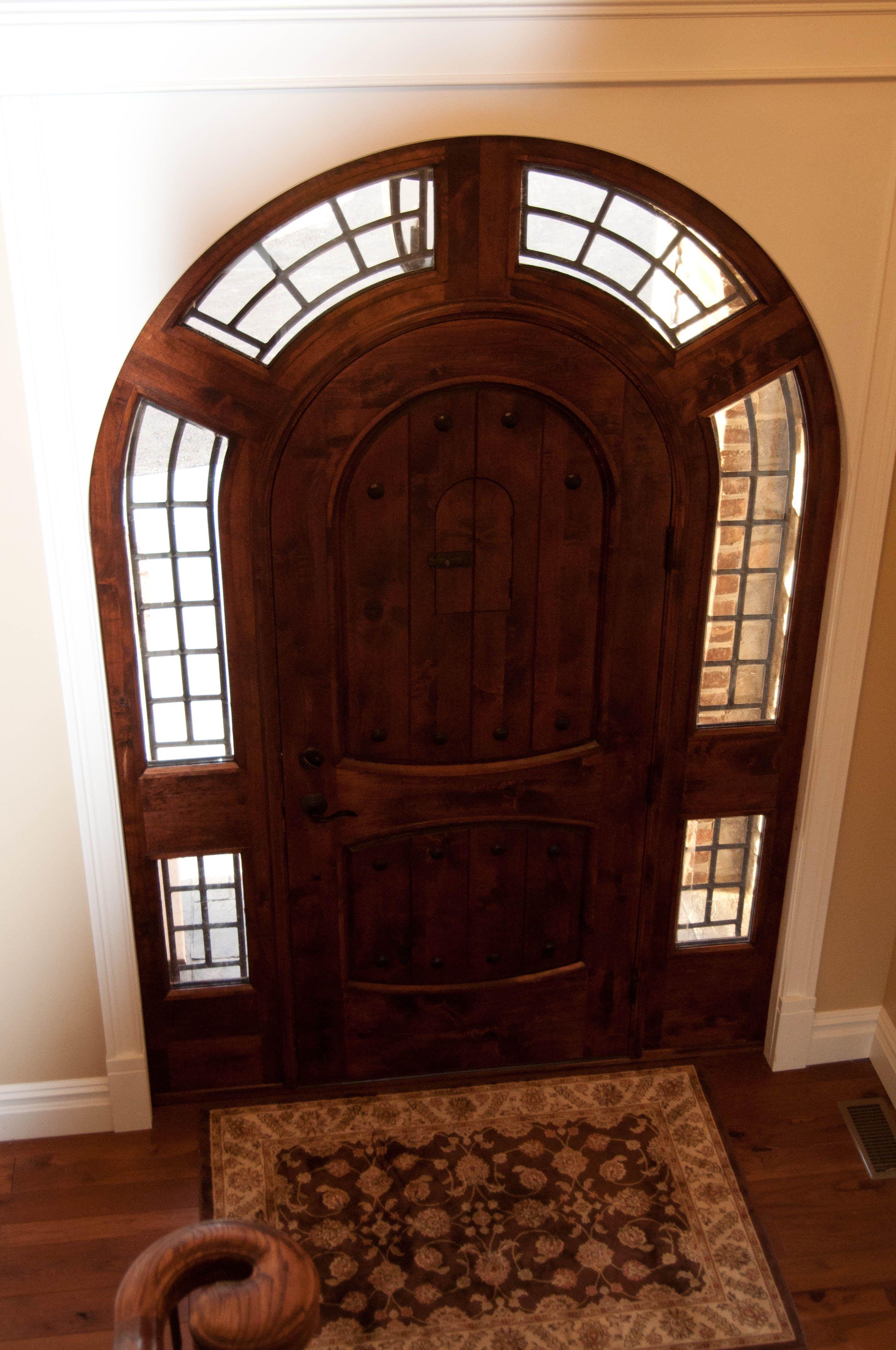 Maverick Custom Homes Cool Front Door Arched Front Door Ideas