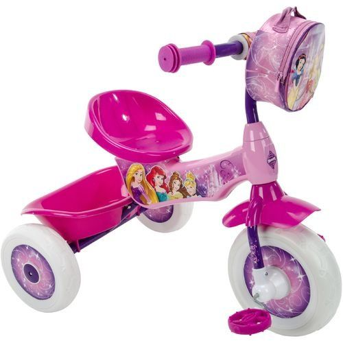 Huffy Disney Princess Girls Trike Tricycle Bike With Training