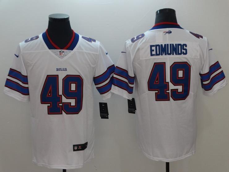 db1d812b6 Men 49 Tremaine Edmunds Jersey Football Buffalo Bills Jersey ...